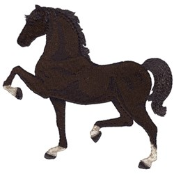 Hackney Horse embroidery design