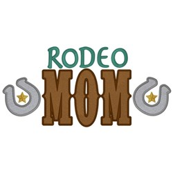 Rodeo Mom embroidery design