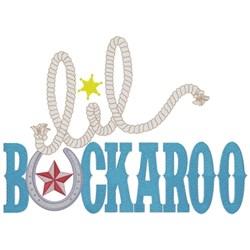 Lil Buckaroo embroidery design