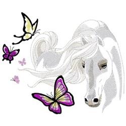 Arabian Butterflies embroidery design