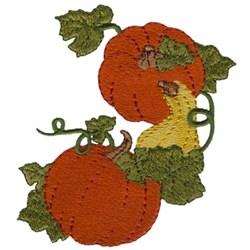 Pumpkins & Gourd embroidery design