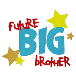 Future Big Brother embroidery design