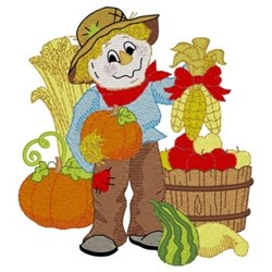 Bountiful Harvest embroidery design