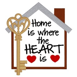 Home Is Where... embroidery design