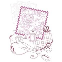 Sewing Scraps embroidery design