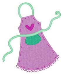 Apron embroidery design