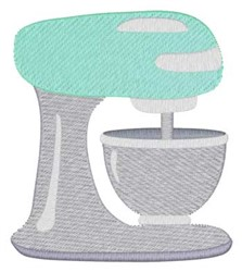 Stand Mixer embroidery design