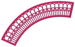 Geometric Pattern Applique embroidery design