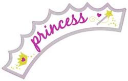 Princess Applique embroidery design