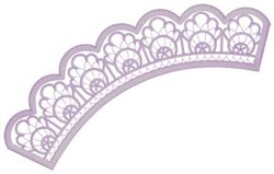 Lace Applique embroidery design