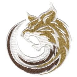 Bobcat embroidery design