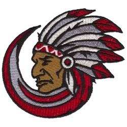 Chief embroidery design