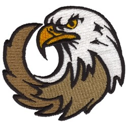 Eagles embroidery design
