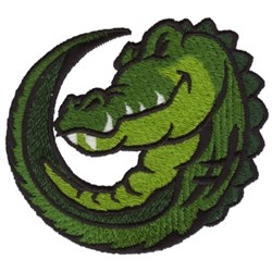 Gator embroidery design