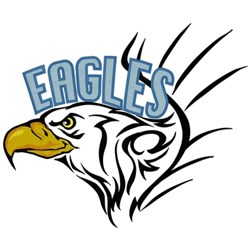 Eagles Head embroidery design