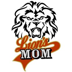 Lions Mom embroidery design