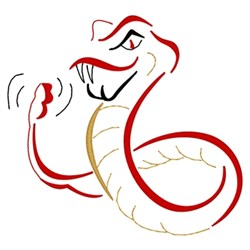 Rattlers embroidery design