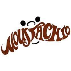 Happy Moustachio embroidery design