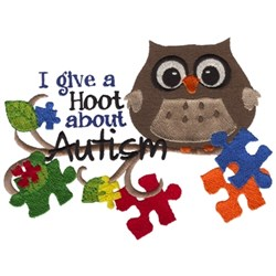 I Give A Hoot... embroidery design