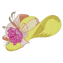 Big Fancy Hat embroidery design