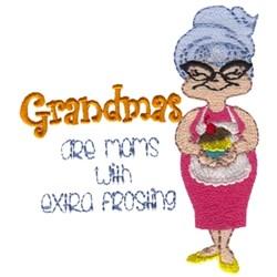 Grandmas - Extra Frosting embroidery design