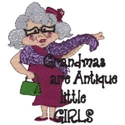 Grandmas Are Antique... embroidery design