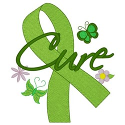 Cure Ribbon embroidery design