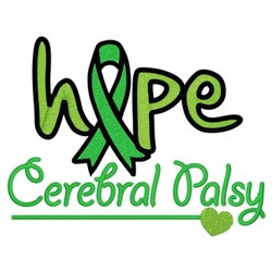 Hope - Cerebral Palsy embroidery design