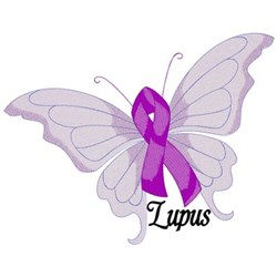 Lupus Butterfly embroidery design