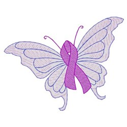 Small Lupus Butterfly embroidery design