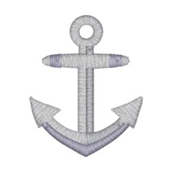 Anchor embroidery design