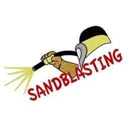 Sandblasting embroidery design