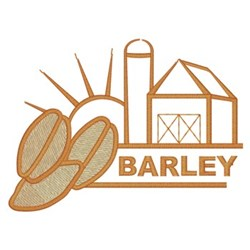 Barley Farm embroidery design