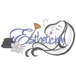 Esthetician embroidery design