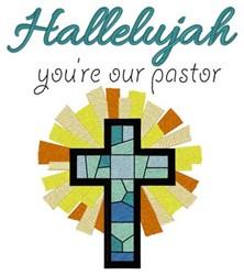 Hallelujah embroidery design