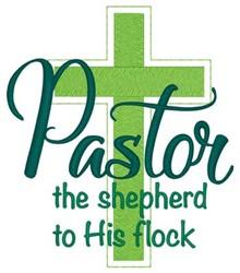 The Shepherd embroidery design