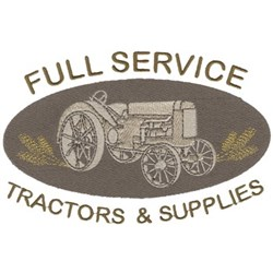 Full Service embroidery design