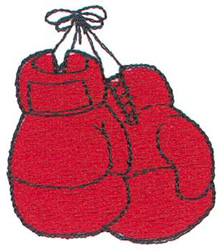 Free Boxer Embroidery Design