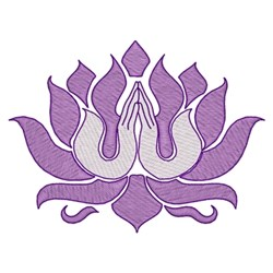 Namaste embroidery design