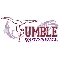 Tumble Gymnastics embroidery design