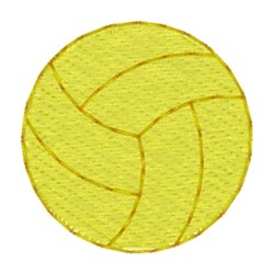 Water Polo Ball embroidery design