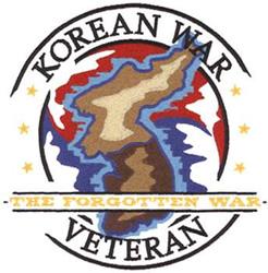 korean war logo embroidery designs machine embroidery