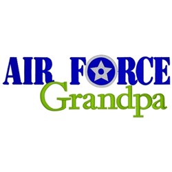 Air Force Grandpa embroidery design