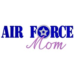 Air Force Mom embroidery design