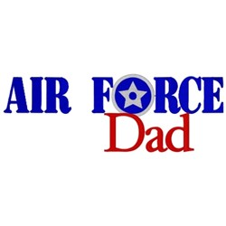 Air Force Dad embroidery design