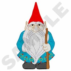Scandinavian Gnome embroidery design