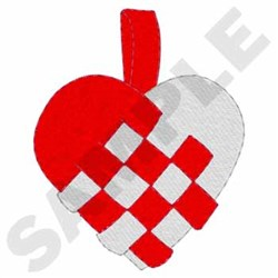 Danish Heart embroidery design