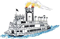 paddleboat outline embroidery designs machine embroidery designs at