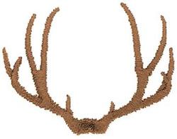 Machine Embroidery Design Deer Antlers