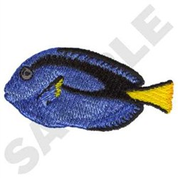 Blue tang fish embroidery designs machine embroidery for Blue tang fish price
